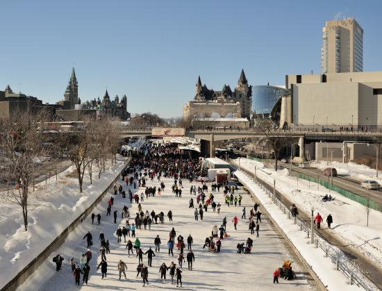 5 skating rinks to try this winter
