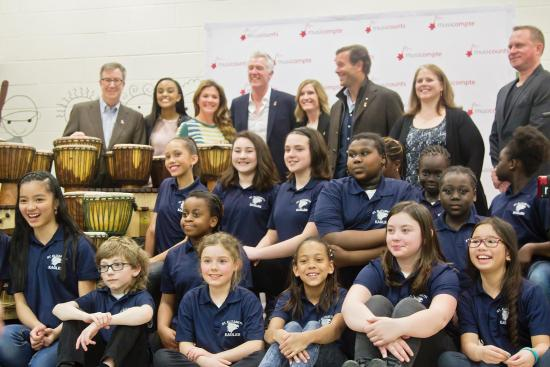 MusiCounts donates $10,000 of Musical Instruments to Ottawa School
