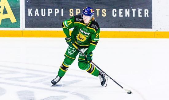 Sens prospect Jarventie impressing in Finland
