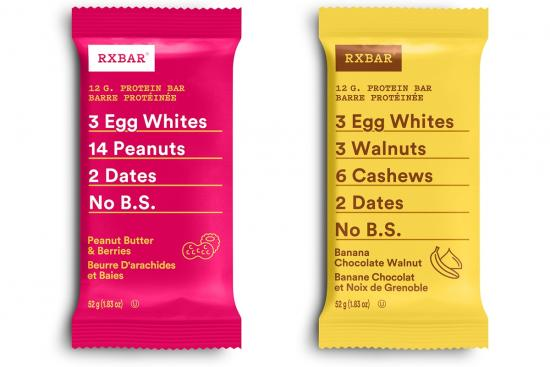RXBAR — NEW healthy snack for active families