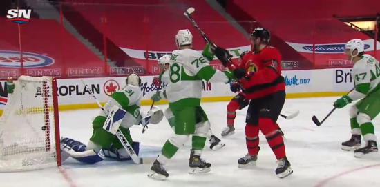 The underdog Sens come to life against the juggernaut Leafs, once again