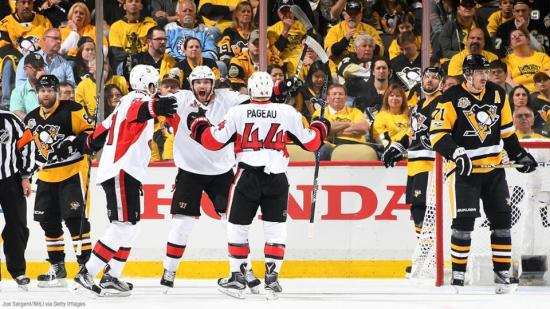 """They don't give you anything."" Senators Ready for Crosby and the Penguins"