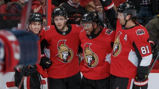 Pageau, Duclair success clouds picture