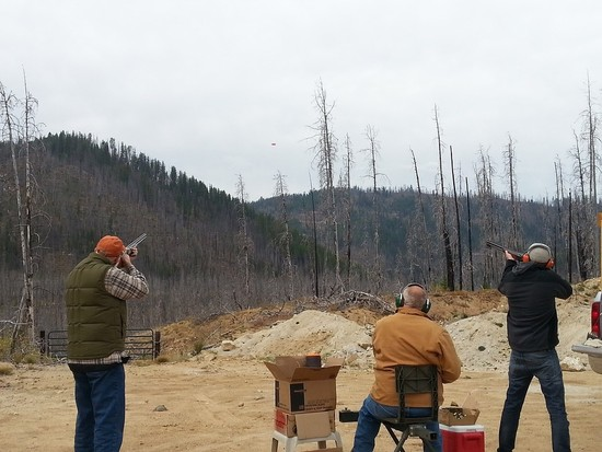 Clay Shooting Requires an Eagle Eye