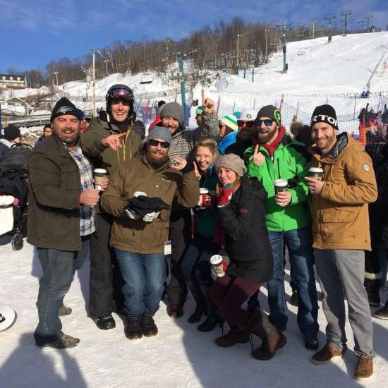 Shreddin' Sens Hit the Slopes for Sens Foundation at 24h Tremblant