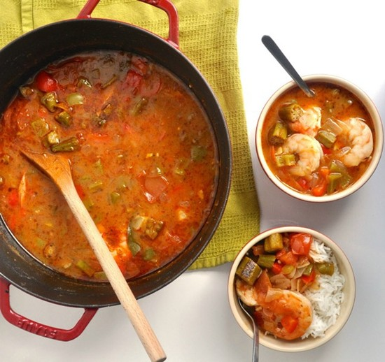 Spicy Shrimp Gumbo