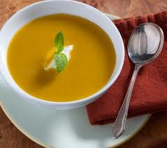 OLM Recipe: Curried Squash and Apple Soup