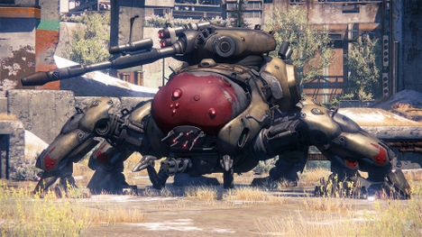 """Putting the """"Science"""" in """"Science Fiction"""": Spider Tanks"""