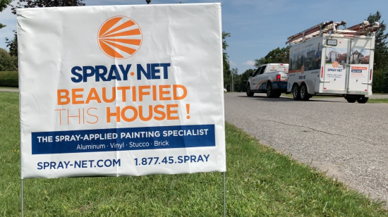 Spray-Net: Exterior House Painting Experts