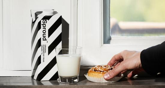 Sproud makes a splash with sustainable alternative milk from unlikely source