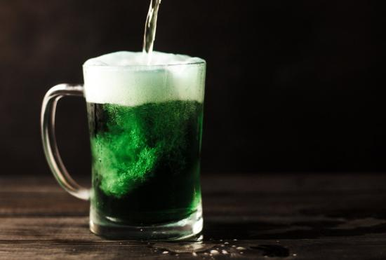 Naturally Green Drinks for St. Patrick's Day