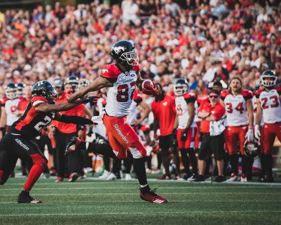 Stampeders Overwhelm Redblacks, Sweep Season Series