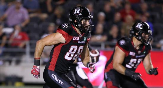 Star Recognition: Four Redblacks Named to CFL All-Star Team