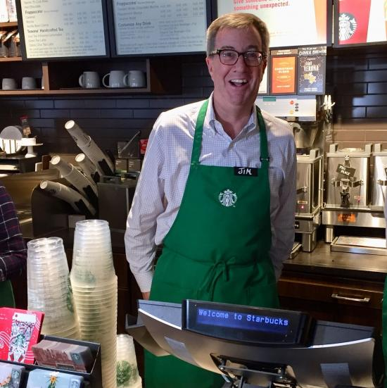Mayor and Starbucks Serve Up Jobs For Ottawa Youth