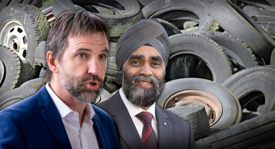 Time to rotate some federal cabinet tires