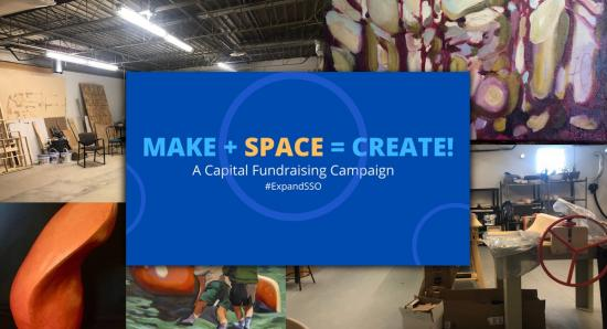 Studio Space Ottawa launches their Capital Campaign to serve more artists
