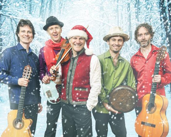 Sultans Return to Put More Swing into Your Christmas