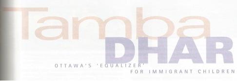 Tamba Dhar - 'Ottawa's Equalizer' for Immigrant Children