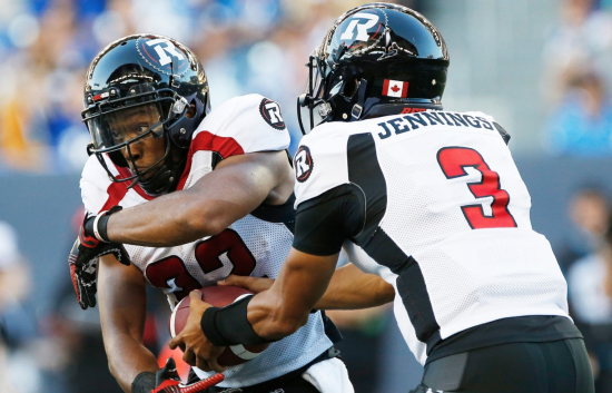 Time of possession tells the story for the Redblacks offence amidst current losing streak