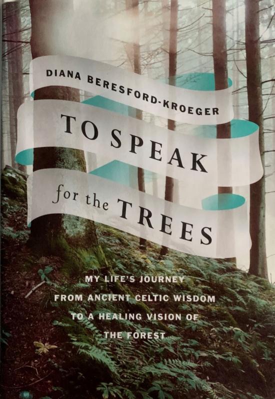 Author Diana Beresford-Kroeger speaks for the trees