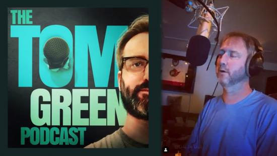 Ottawa's Tom Green performs Isolation