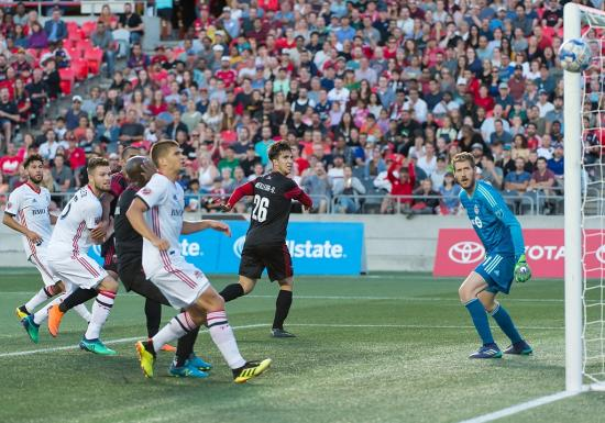 Toronto FC bring the 'fire' to Ottawa in 1-0 victory over Fury FC in Canadian Championship semi-final first leg