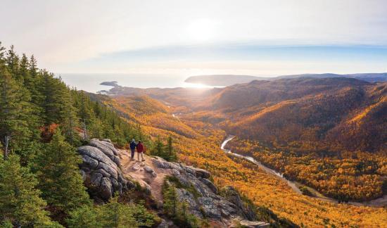 Fall colours of Cape Breton Island