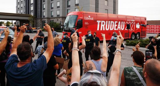 Trudeau and pandemic rage