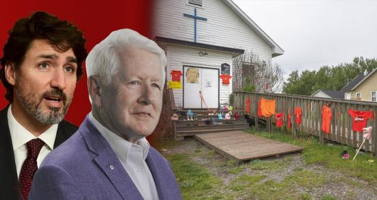 Trudeau and Bob Rae called out for hypocrisy/superiority complex on residential schools