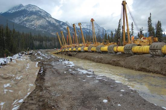 Trudeau's Pipeline Blockage Continues