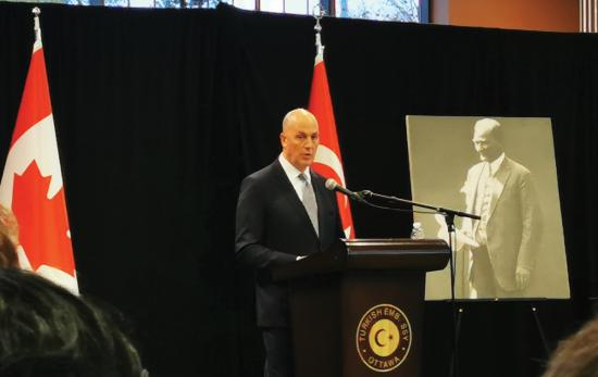 Turkish Ambassador Kerim Uras on Canada, Syria and Gülen