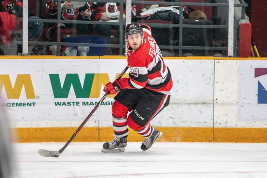 Tye Felhaber Passes the 40-Goal Mark as Ottawa 67's Win Two Straight