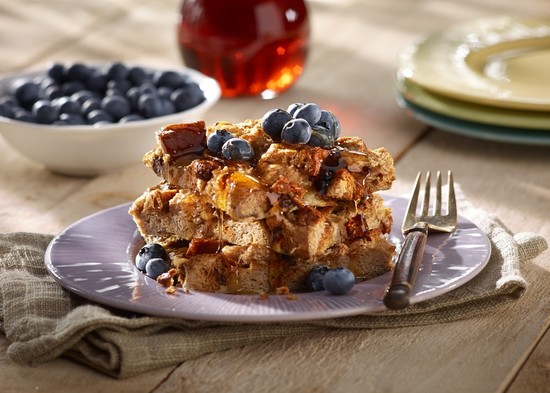 Udi's Overnight Cinnamon Raisin French Toast Bake