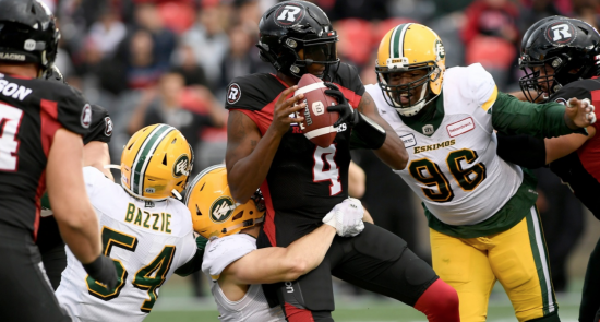 Unlucky Number Seven: Redblacks Drop Close Game to Eskimos for Seventh Straight Loss