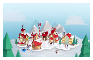 Online-Newsroom Helps Spread the News About Santa's Journey