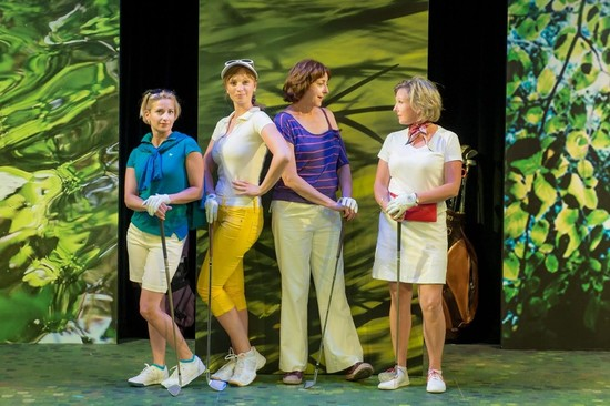 Hit the Links with the Ladies' Foursome at Hudson Village Theatre