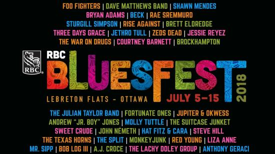 RBC Bluesfest rolls out exceptional line-up for 2018