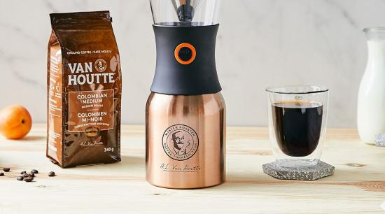 Complete your summer with the Van Houtte Cold Brew Insulated Brewer