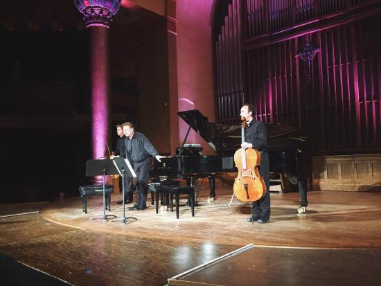 Vienna Piano Trio Exquisitely Delightful At Music & Beyond
