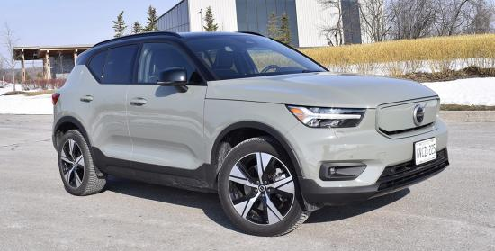 Volvo's first EV offers practicality – with performance