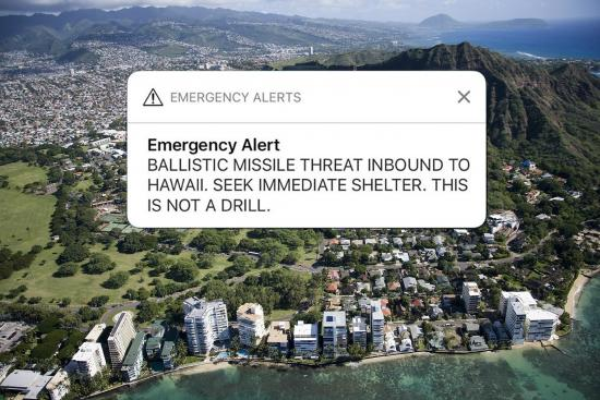 The Hawaiian Missile Crisis: A Failure of Emergency Preparedness