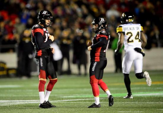 Ward Sets Pro Football Record as Redblacks Tame Ti-Cats in Pivotal East Battle