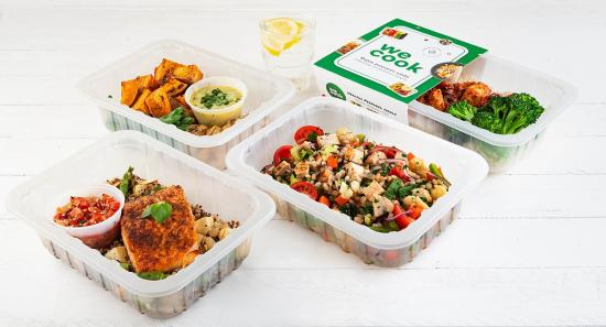 Tired of dishes and meal prep? Let WeCook do the cooking for you!