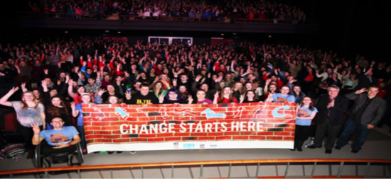 We Create Change Tour Impacts the Nation through Motivation and Inspiration