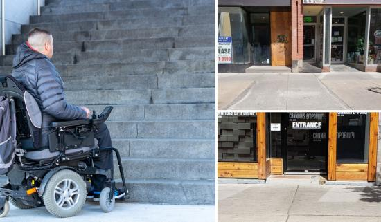 Becoming wheelchair accessible — some assembly NOT required