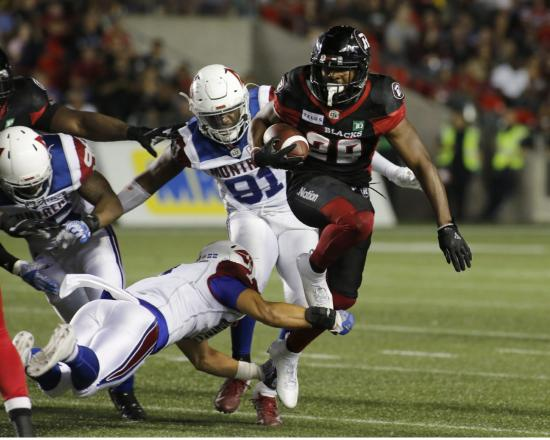 William Powell and the Redblacks Thrive in Close Games