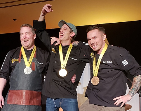 Yannick LaSalle Wins 2019 Canadian Culinary Championships