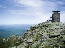 Atop Whiteface Mountain, the fifth highest mountain in the Adirondacks, sits the State of New York Weather Monitoring Station.From here you can walk around for a great 360-degree view. Photo: Orda Media