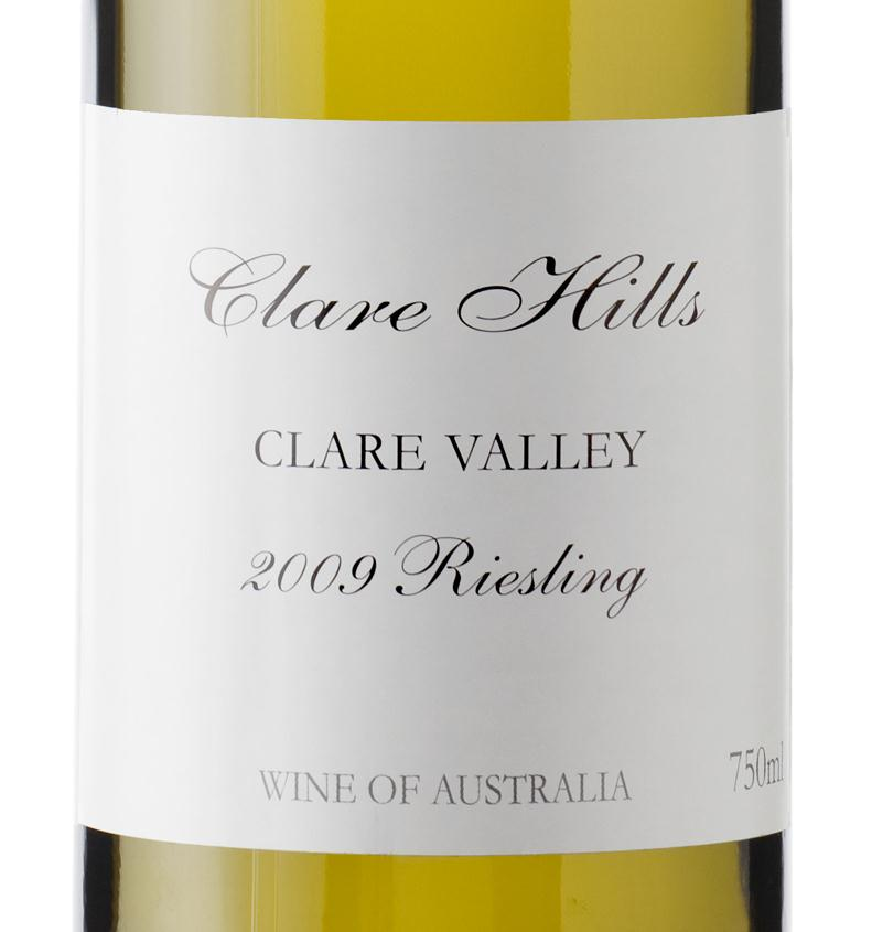 09 clare hills riesling