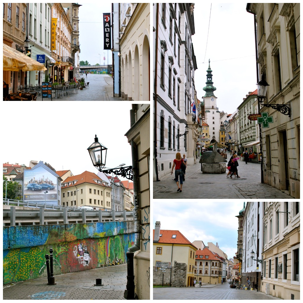 Streets of Old Town Bratislava